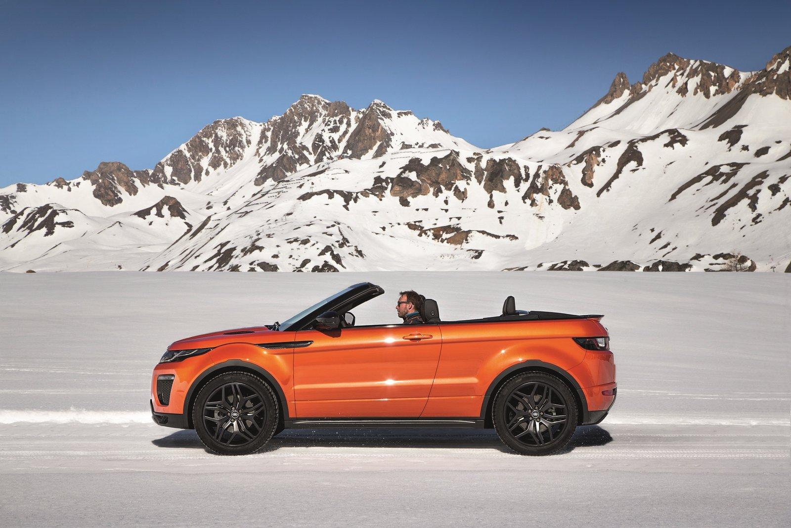 2017 range rover evoque convertible revealed with 50 475 price autoevolution. Black Bedroom Furniture Sets. Home Design Ideas