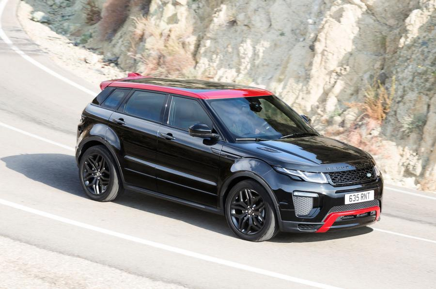 2017 Range Rover Evoque Gets More Of Everything And Ember