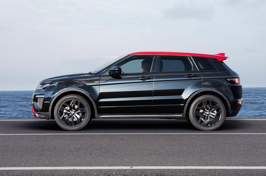 2017 Range Rover Evoque Gets More of Everything and Ember Special ...