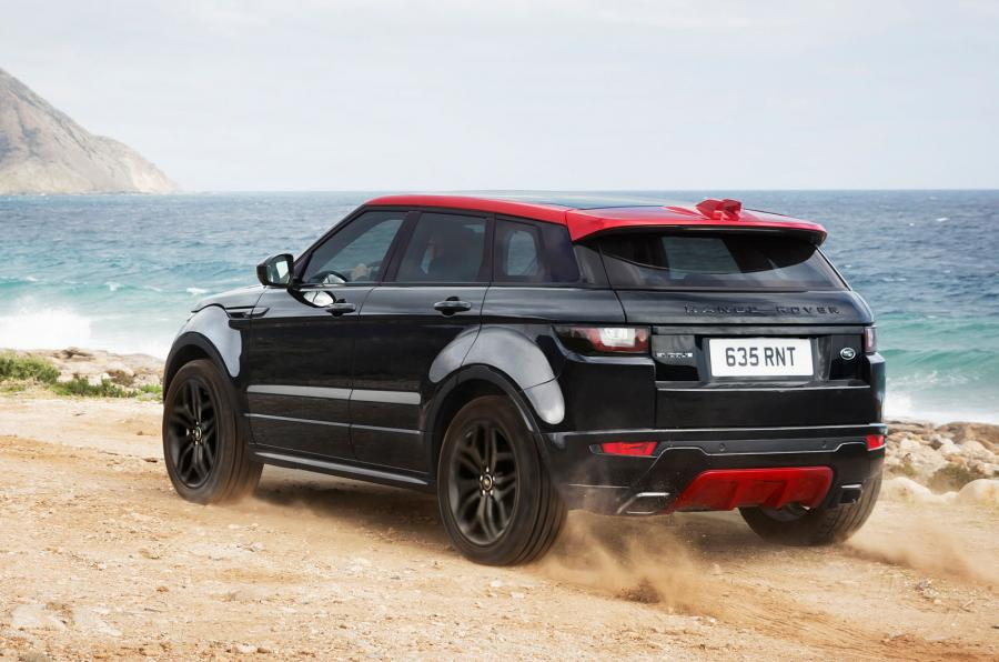 2017 Range Rover Evoque Gets More Of Everything And Ember Special Edition Autoevolution