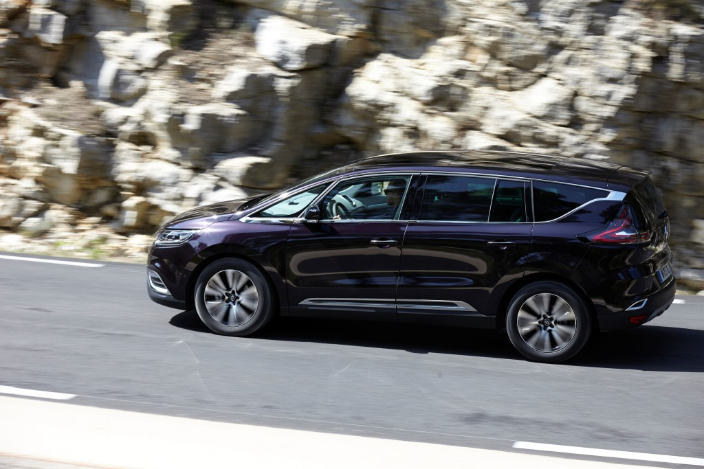 2017 renault espace gains 1 8l energy tce engine with 225. Black Bedroom Furniture Sets. Home Design Ideas