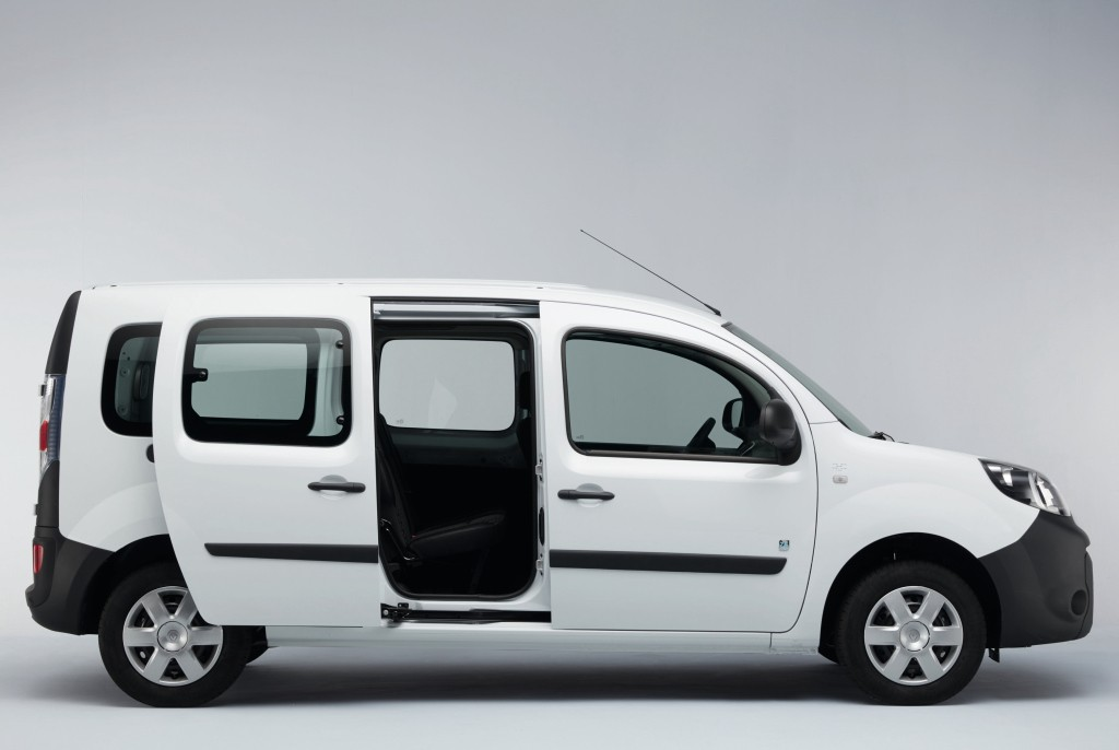2017 renault kangoo z e boasts 270 km range autoevolution. Black Bedroom Furniture Sets. Home Design Ideas