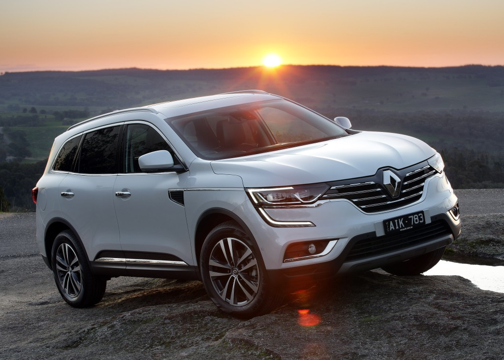 2017 renault koleos debuts in australia with x trail 2 5. Black Bedroom Furniture Sets. Home Design Ideas
