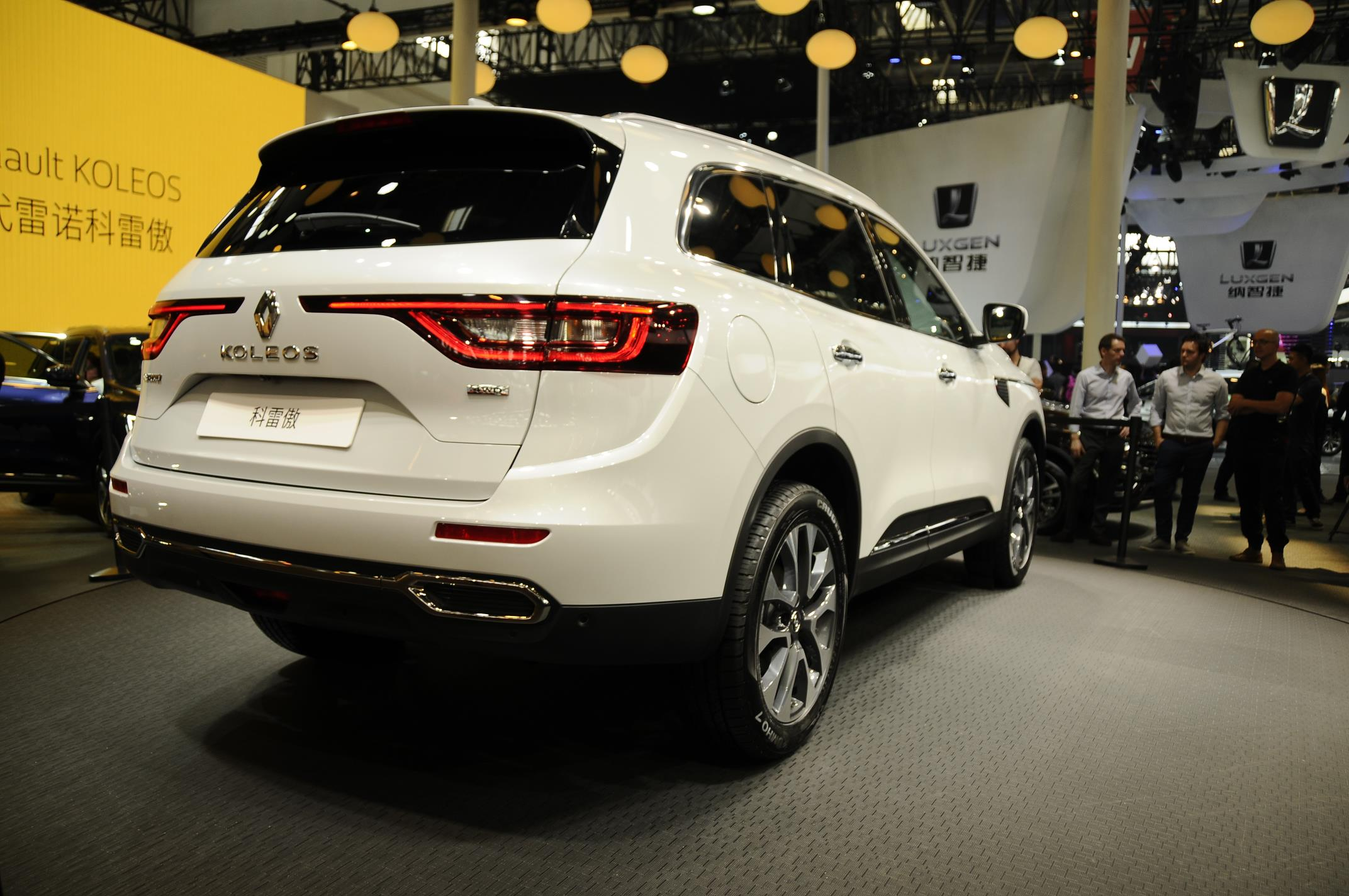 2017 renault koleos has a hint of volvo xc90 in first videos and live photos autoevolution. Black Bedroom Furniture Sets. Home Design Ideas