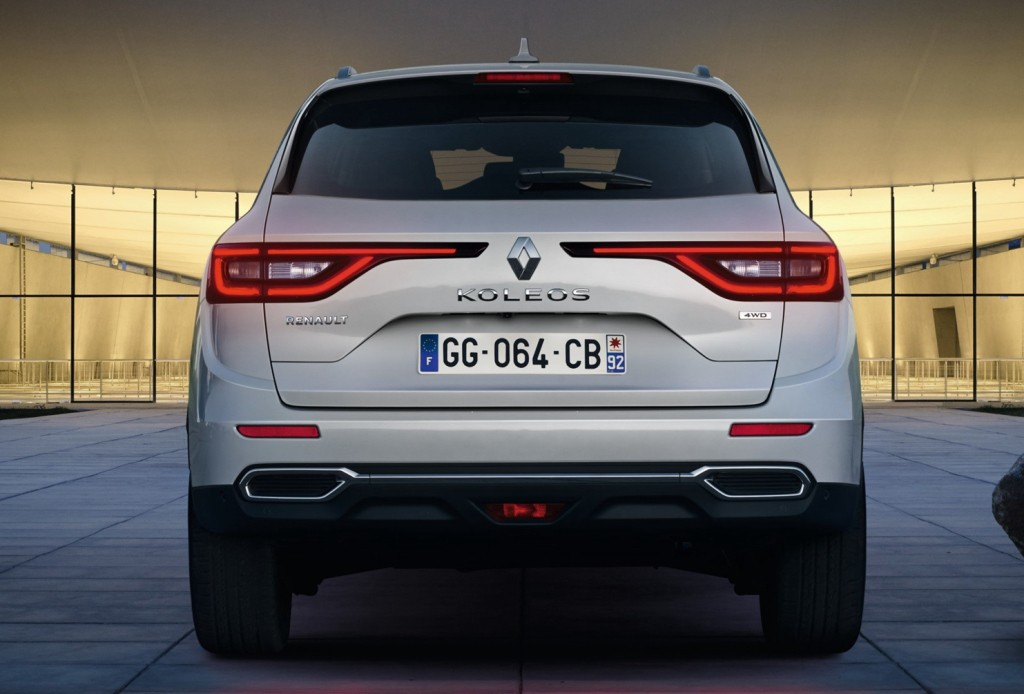 2017 renault koleos ii debuts in china to global audience. Black Bedroom Furniture Sets. Home Design Ideas