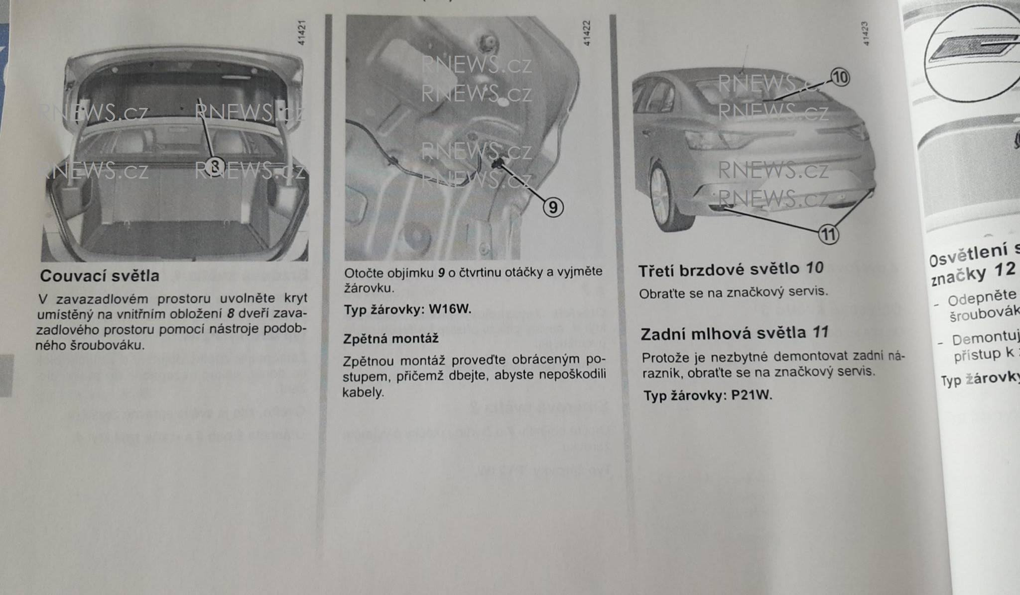 2017 Renault Megane Sedan Leaked Through Owner's Manual ...