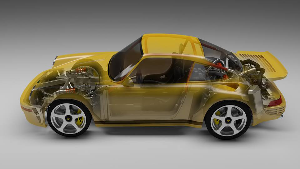 Ruf Ctr Borrows Infamous Yellowbird Look Skips Chassis For Carbon Tub