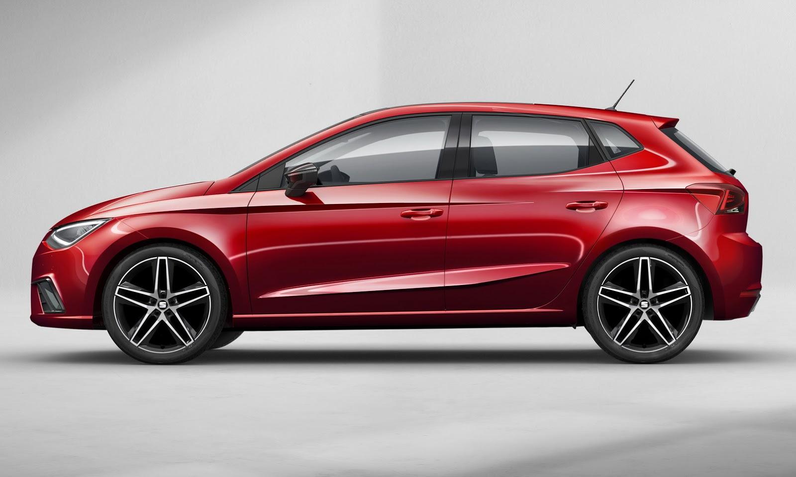 2017 Seat Ibiza Configurator Launched  Basic Non