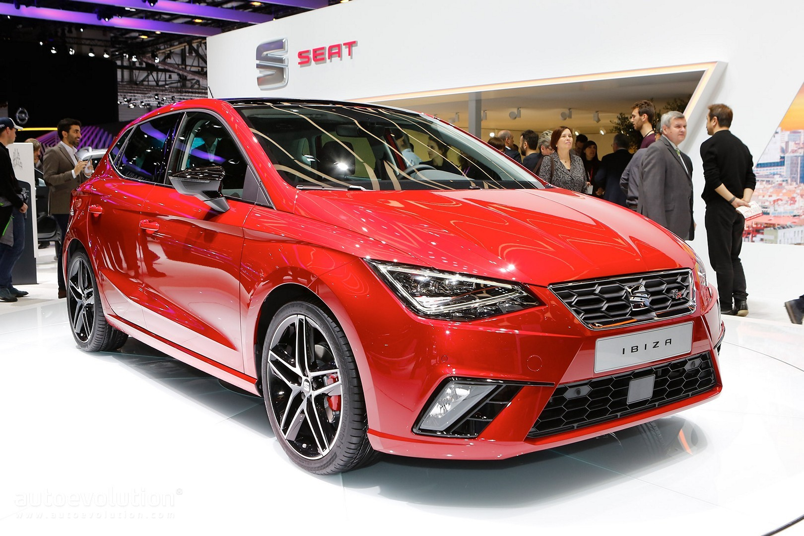 2017 seat ibiza looks like a mini leon in geneva has. Black Bedroom Furniture Sets. Home Design Ideas