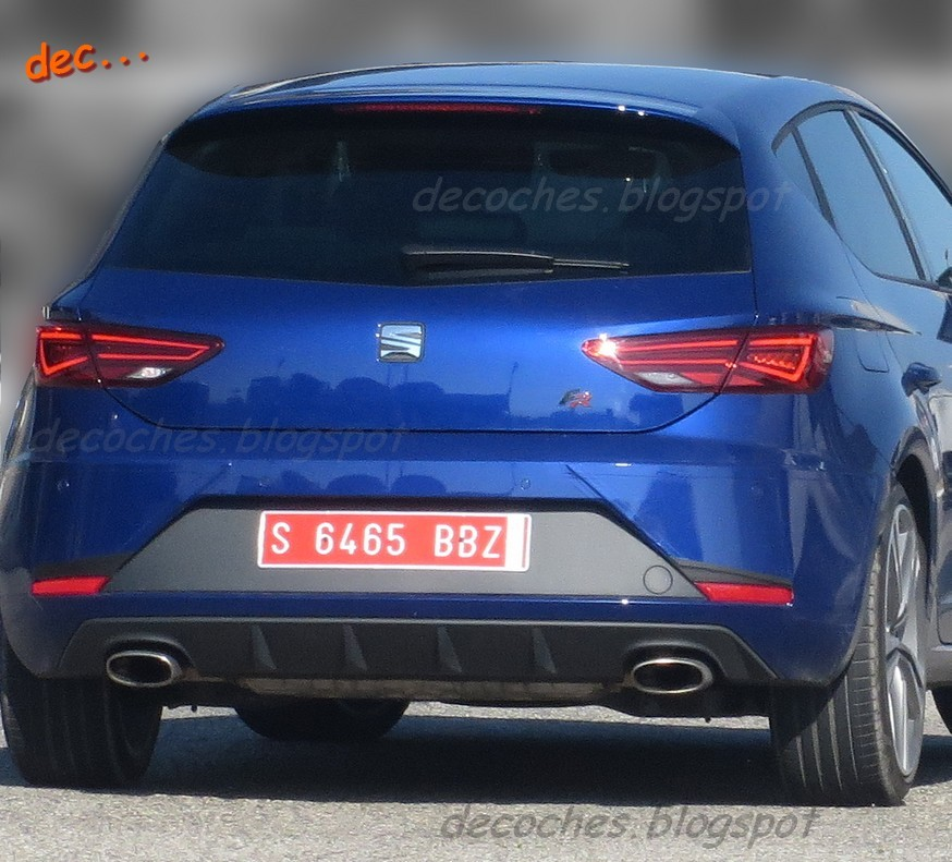 2017 Seat Leon Cupra Facelift Spied Testing With Minimal