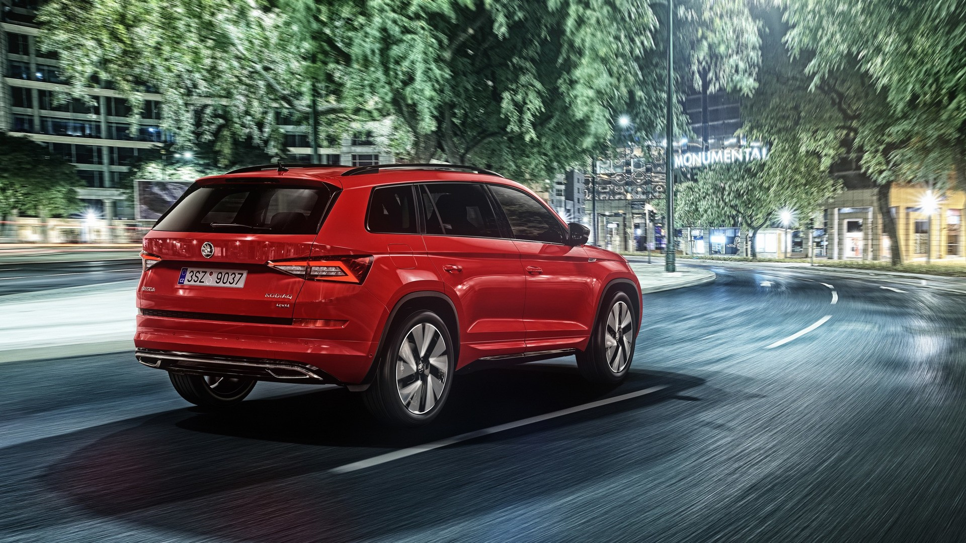 2017 skoda kodiaq sportline is all about standing out from the crowd autoevolution. Black Bedroom Furniture Sets. Home Design Ideas