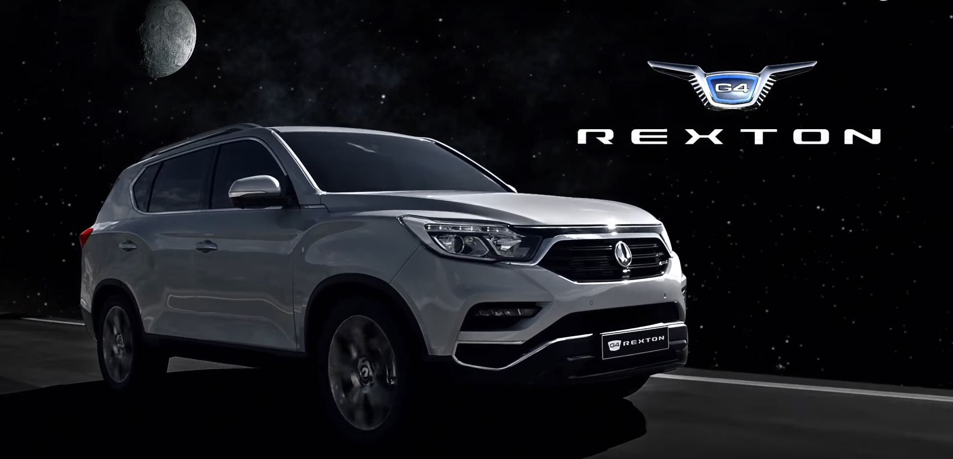 2017 SsangYong G4 Rexton Goes to the Moon, Does Cool ...
