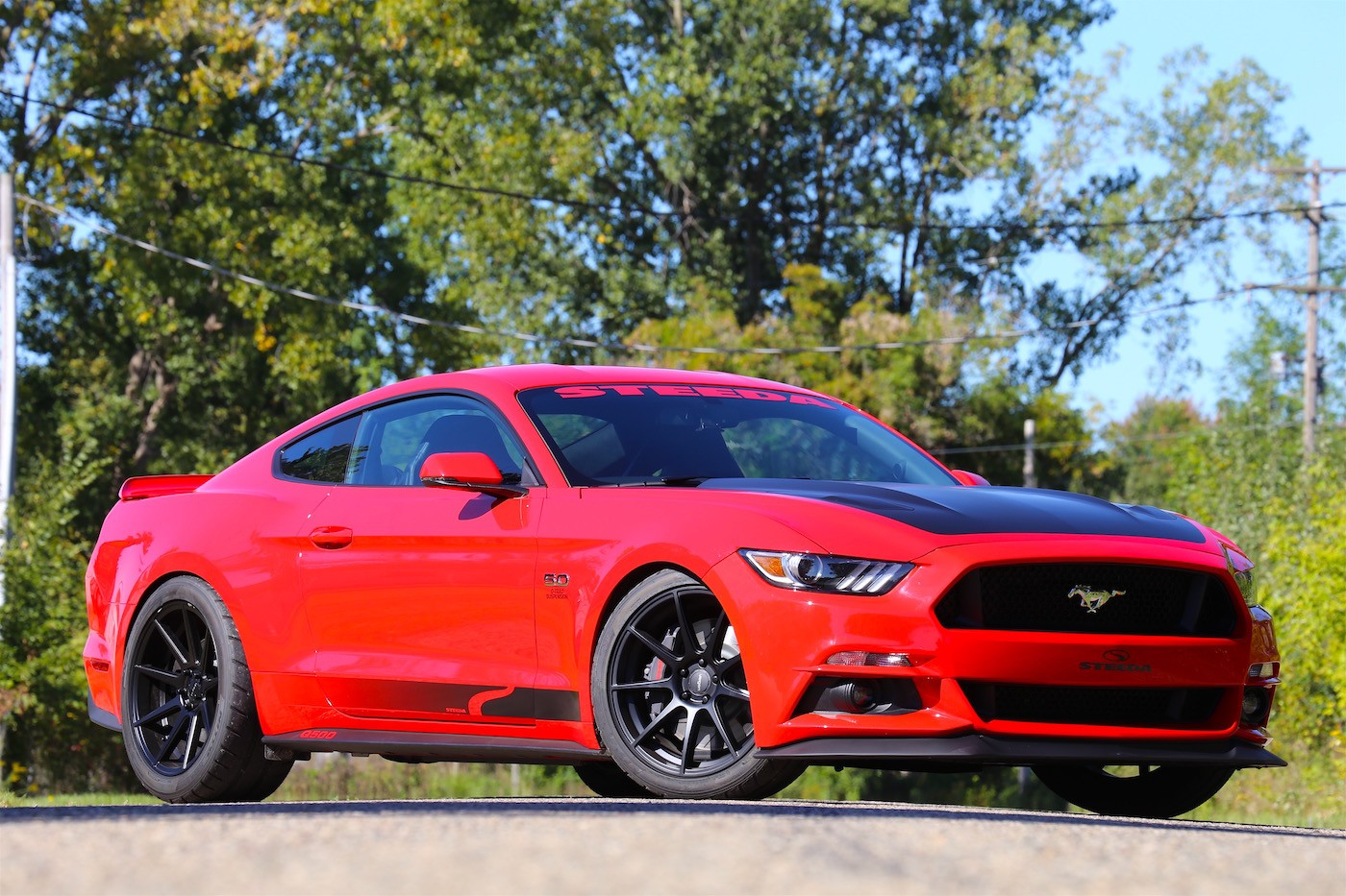 2017 Steeda Q750 Streetfighter Mustang Packs Hellcat