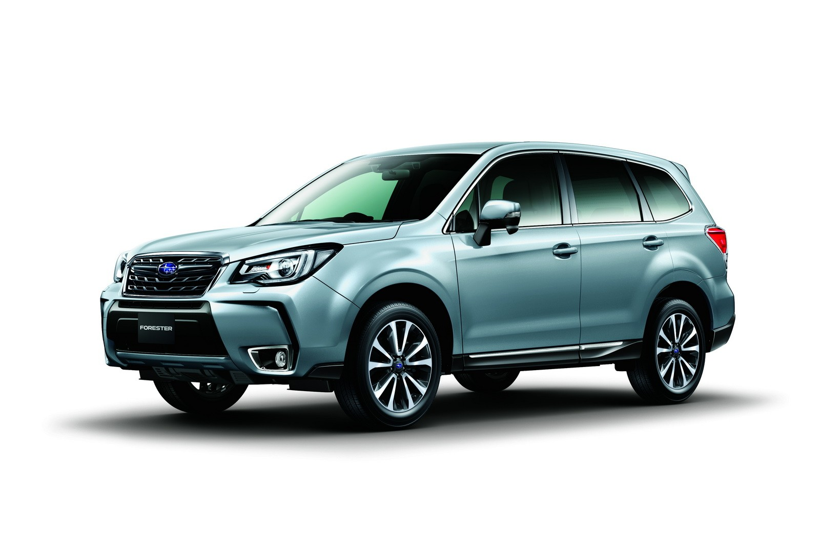 2017 subaru forester facelift revealed ahead of tokyo motor show debut autoevolution. Black Bedroom Furniture Sets. Home Design Ideas