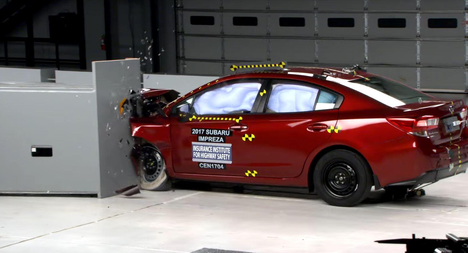 2017 Subaru Impreza Gets IIHS Top Safety Pick Rating  autoevolution