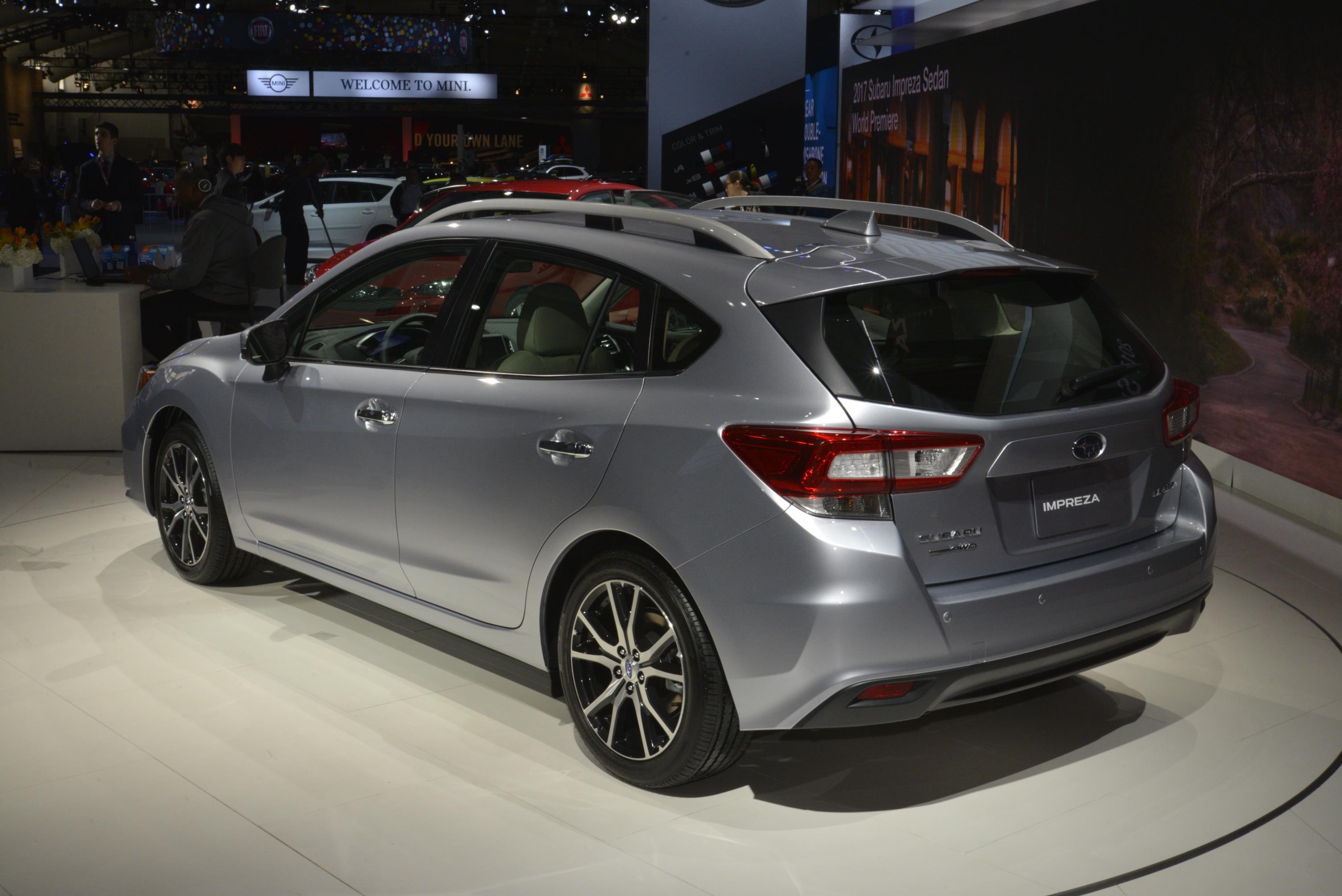 Subaru Wrx 0-60 >> 2018 Subaru Impreza WRX STI Might Look like This - autoevolution