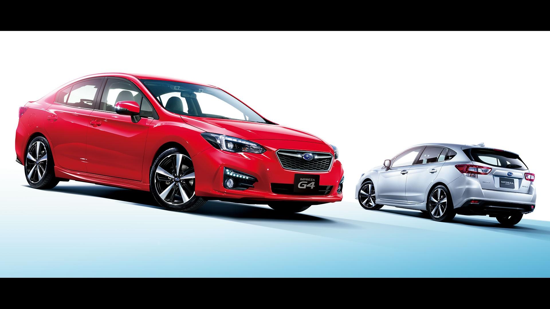 2017 Subaru Impreza Anese Models
