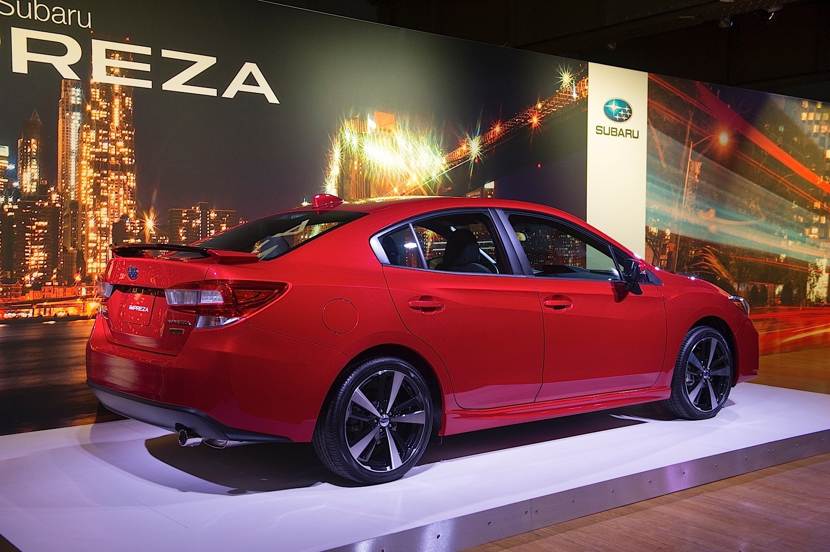 update 2017 subaru impreza unveiled in sedan form 5 door hatchback incoming autoevolution. Black Bedroom Furniture Sets. Home Design Ideas