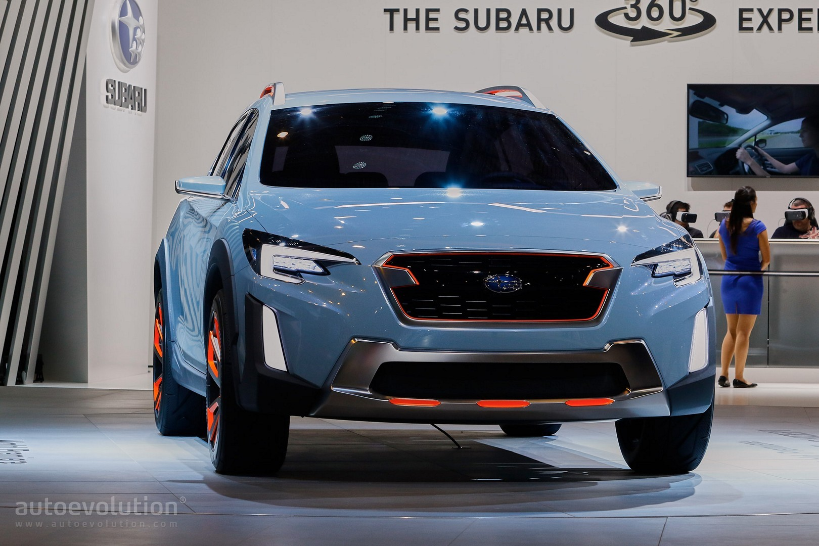 2017 subaru xv crosstrek previewed by this rugged. Black Bedroom Furniture Sets. Home Design Ideas