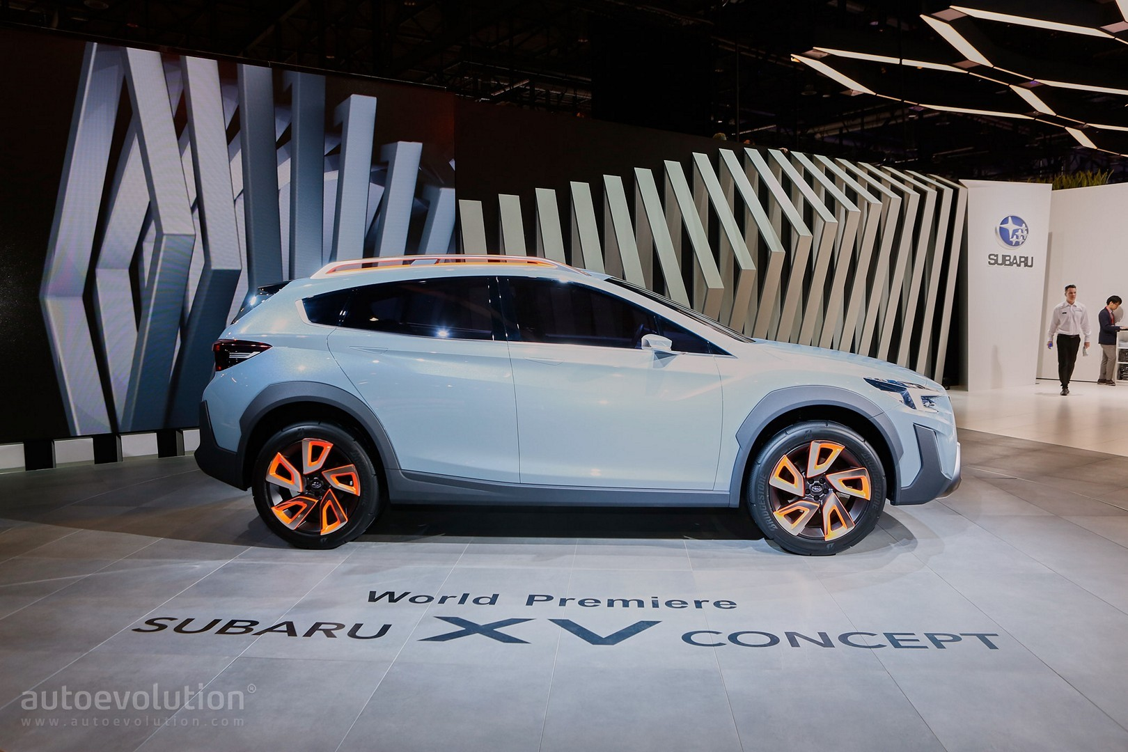 2017 Subaru XV / Crosstrek Previewed by This Rugged Concept in Geneva ...
