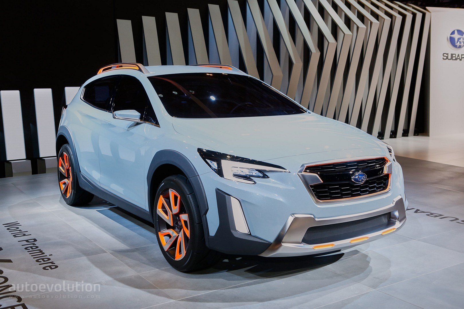 2017 Subaru Xv Crosstrek Previewed By This Rugged Concept In Geneva Autoevolution