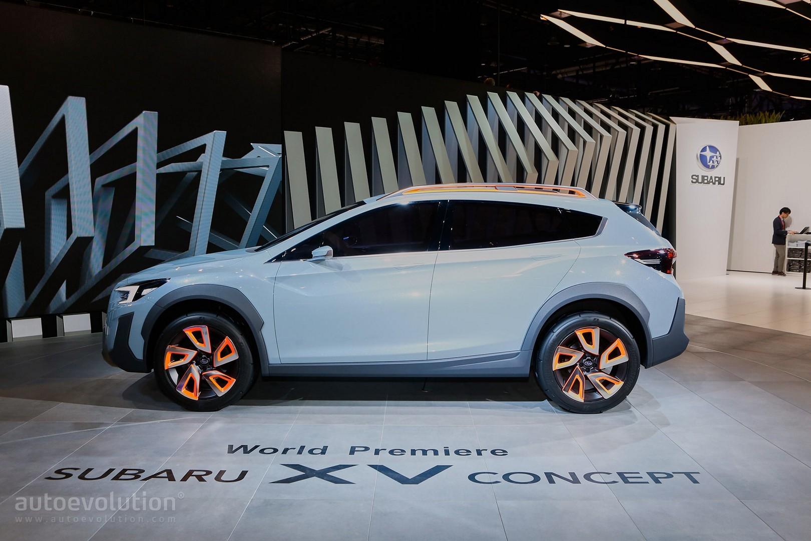 Subaru Xv Concept Live Photos