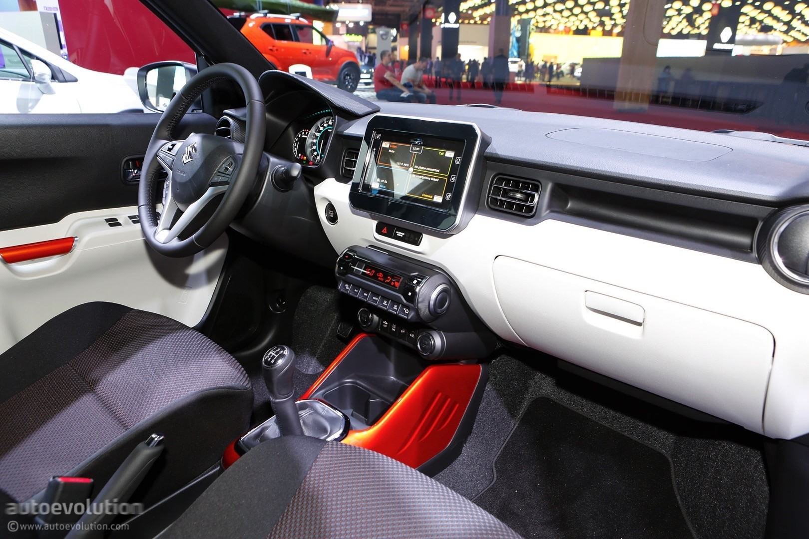 Elegant 2017 Suzuki Ignis Locks Down On Paris SX4 SCross