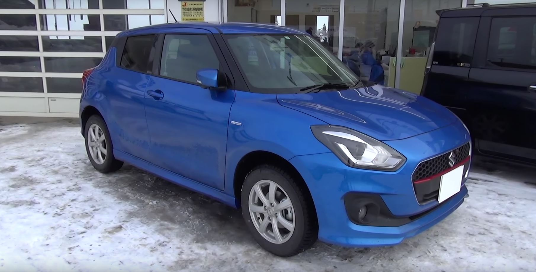 2017 Suzuki Swift Hybrid Rs 4wd Gets Pov Test Drive In