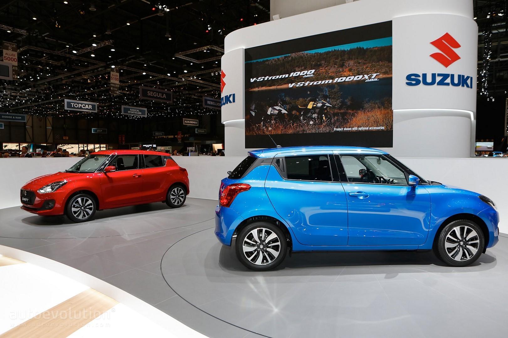 2017 Suzuki Swift Makes European Debut in Geneva - autoevolution