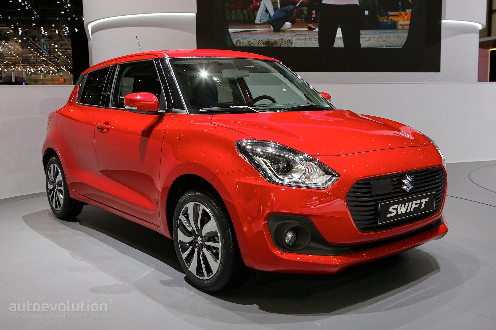larger suzuki swift coming in 2017 autoevolution. Black Bedroom Furniture Sets. Home Design Ideas