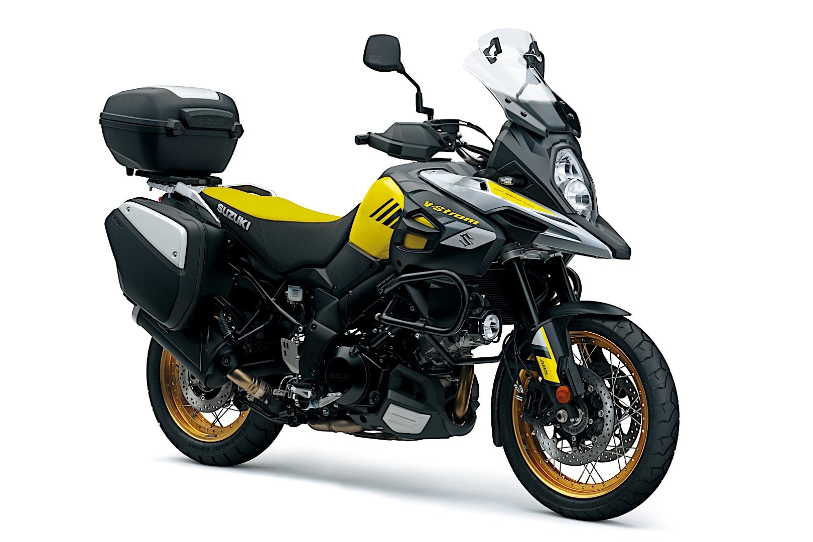 2017 suzuki v strom 650 and 1000 get updated autoevolution