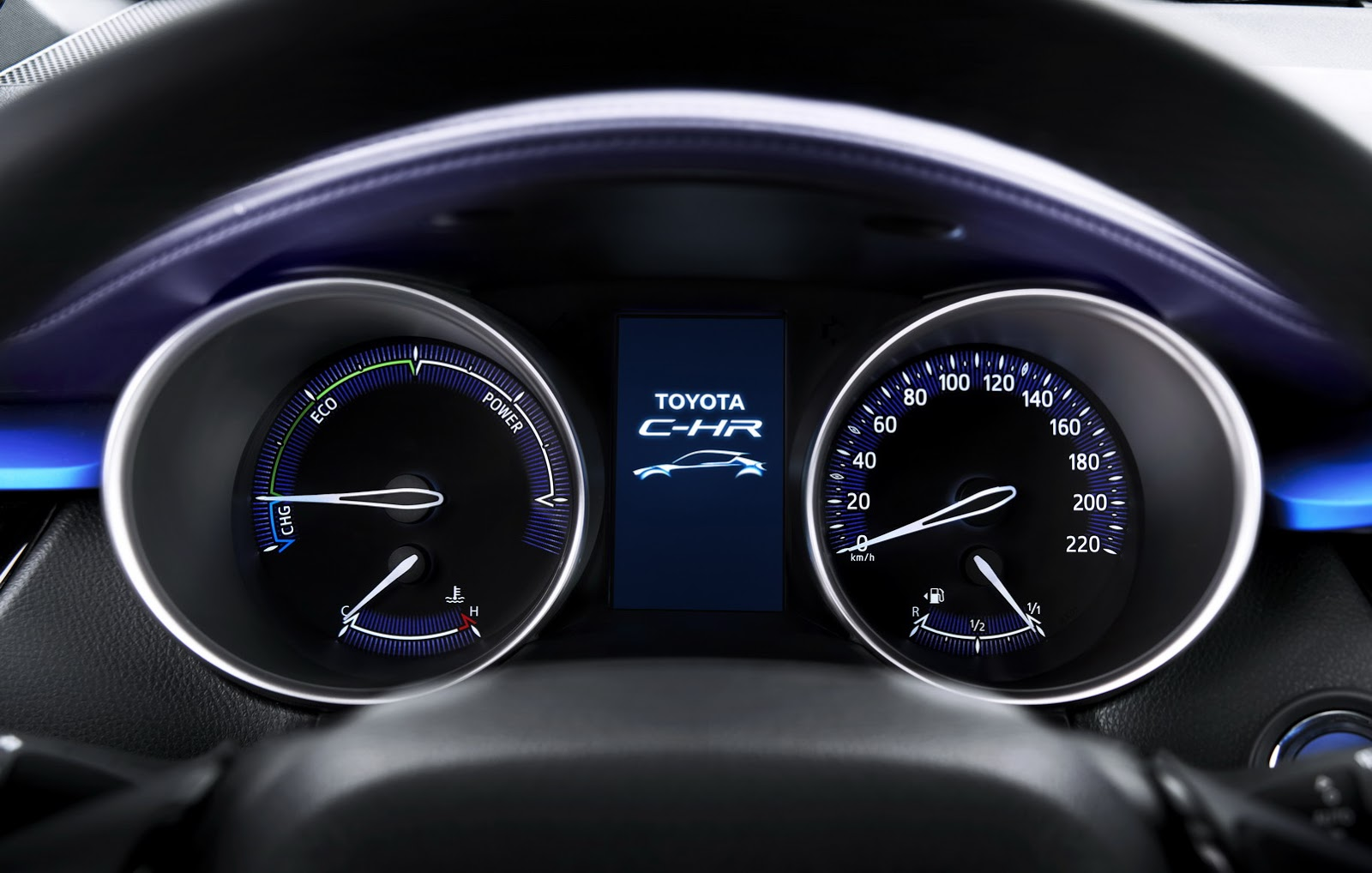 2017 Toyota C-HR Interior Design Unveiled - autoevolution
