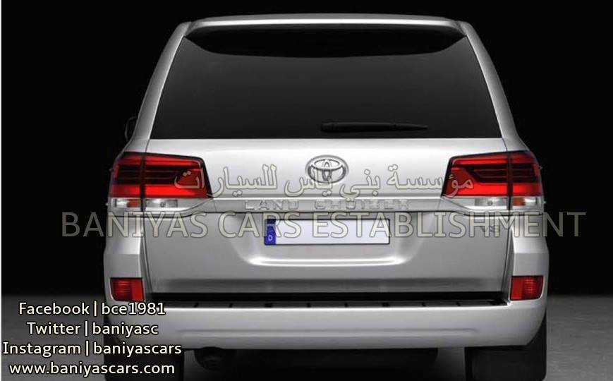 2017 Toyota Land Cruiser and Lexus LX Facelift Leaked in the Middle ...