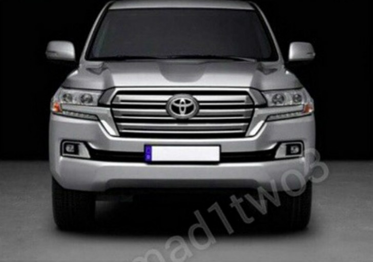 2017 Toyota Land Cruiser Facelift Revealed in Leaked Pics ...