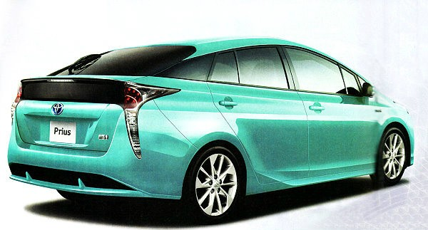 2017 toyota prius leaked by taiwanese auto publication is it real autoevolution. Black Bedroom Furniture Sets. Home Design Ideas