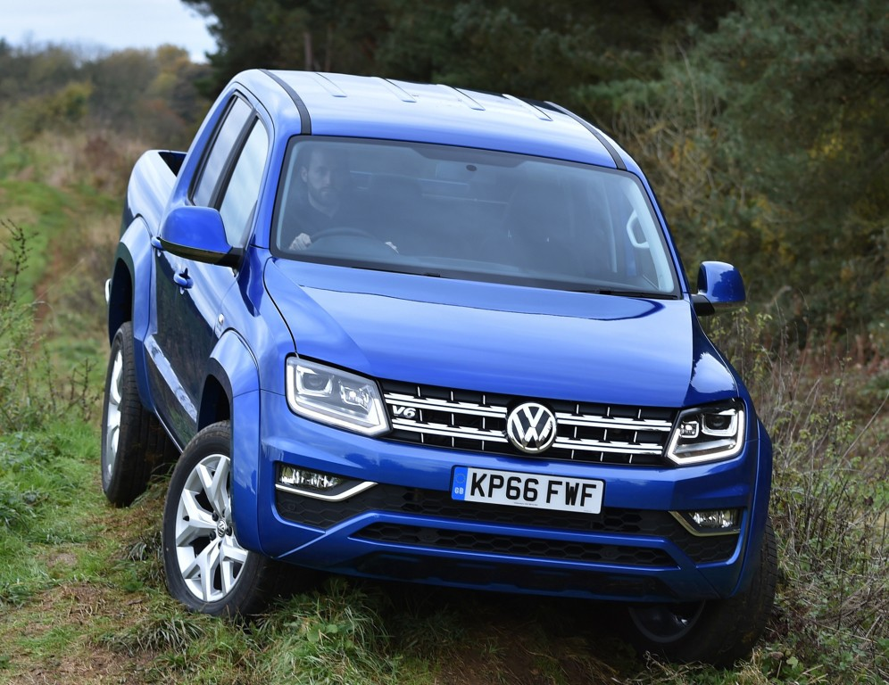 2017 Volkswagen Amarok V6 Tdi Now Available To Order In The Uk Autoevolution