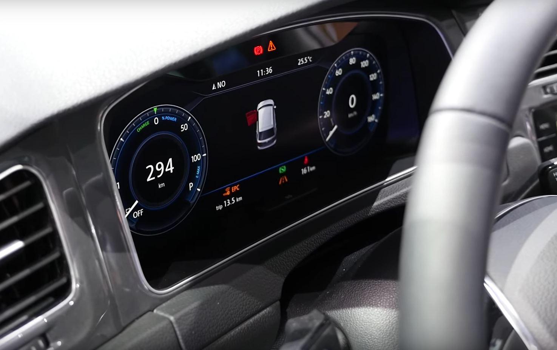 Volkswagen golf vii r rendered autoevolution for Golf interieur boisbriand