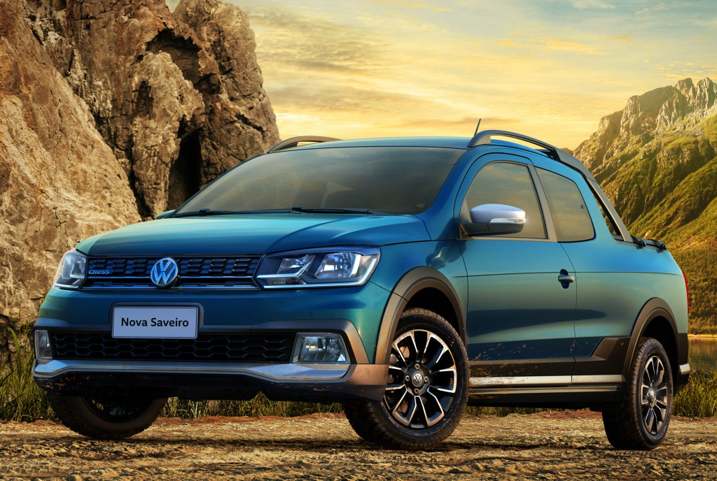 Dacia Pickup 2017 >> 2017 Volkswagen Saveiro Revealed in Brazil with a New Interior and Fresh Look - autoevolution