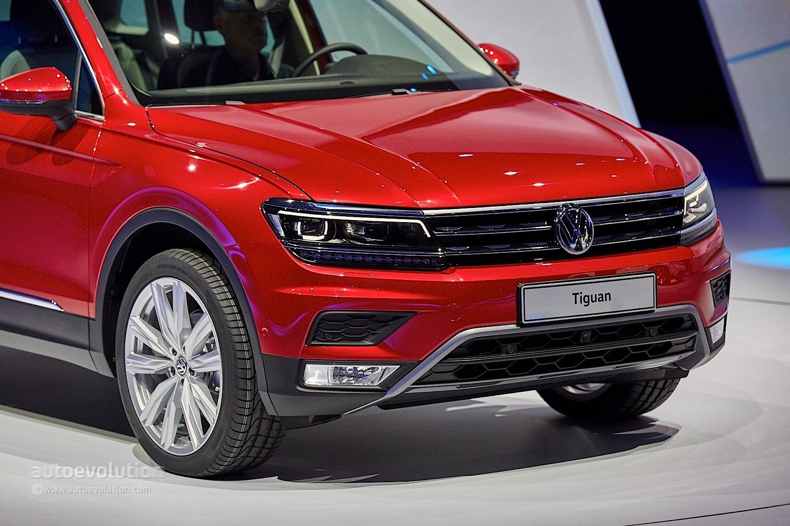 2017 Volkswagen Tiguan Is All Grown Up in Frankfurt ...