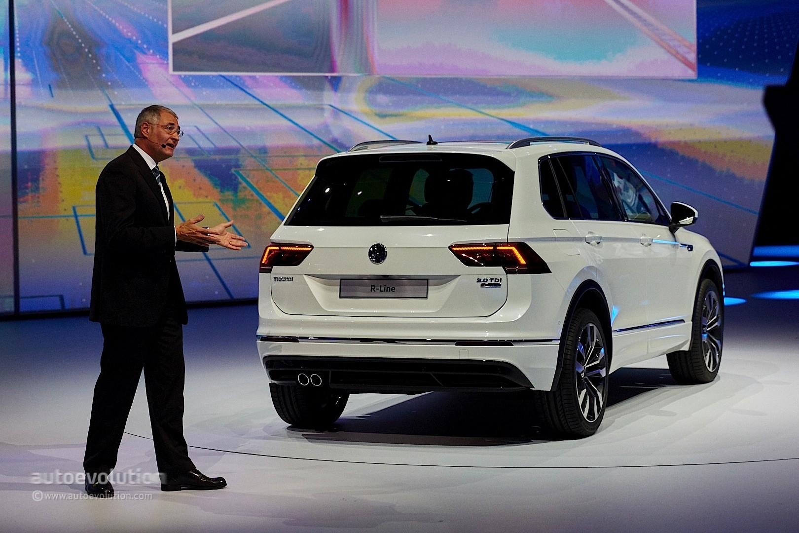 2017 Volkswagen Tiguan Is All Grown Up in Frankfurt - autoevolution