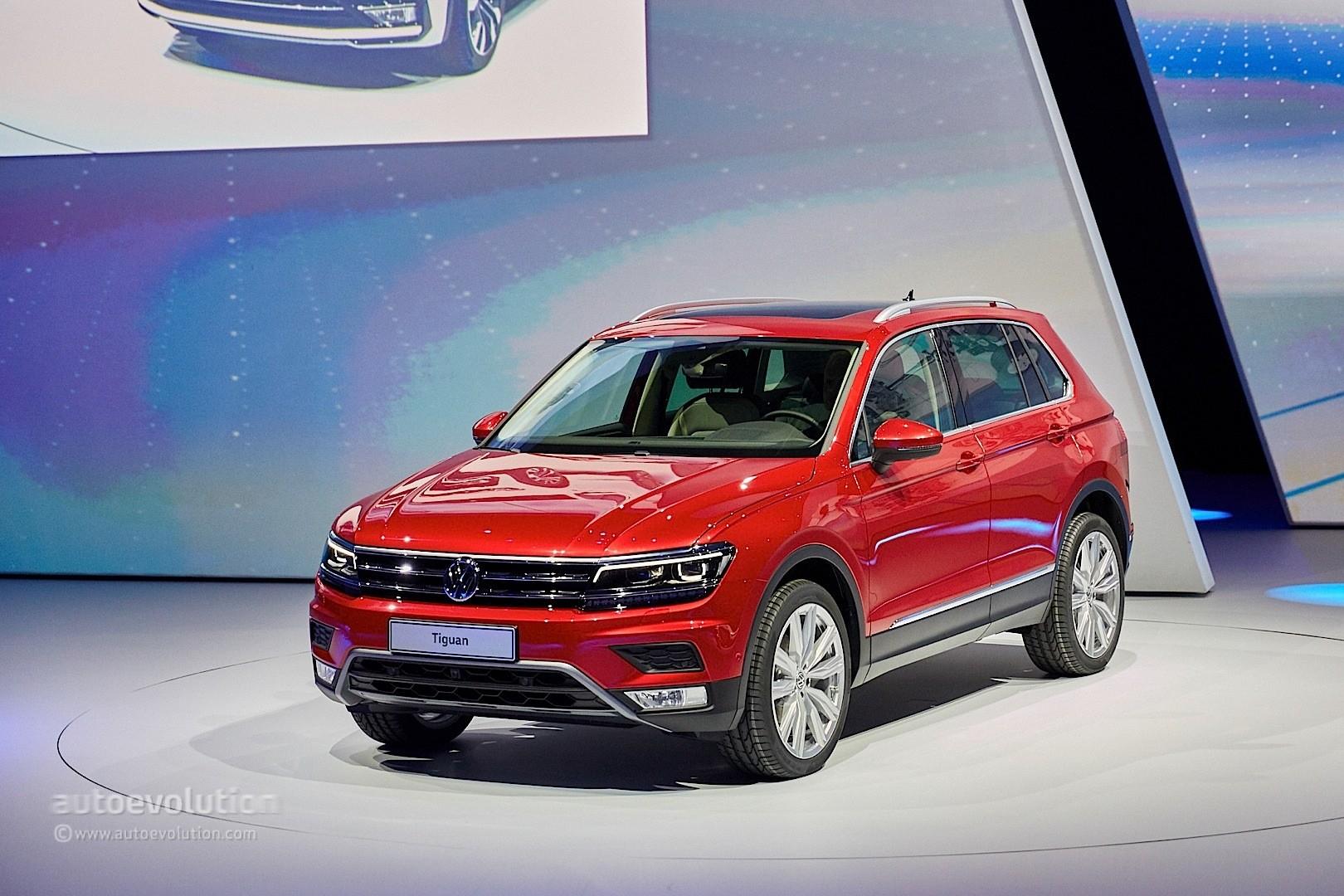 2017 Volkswagen Tiguan Is All Grown Up In Frankfurt