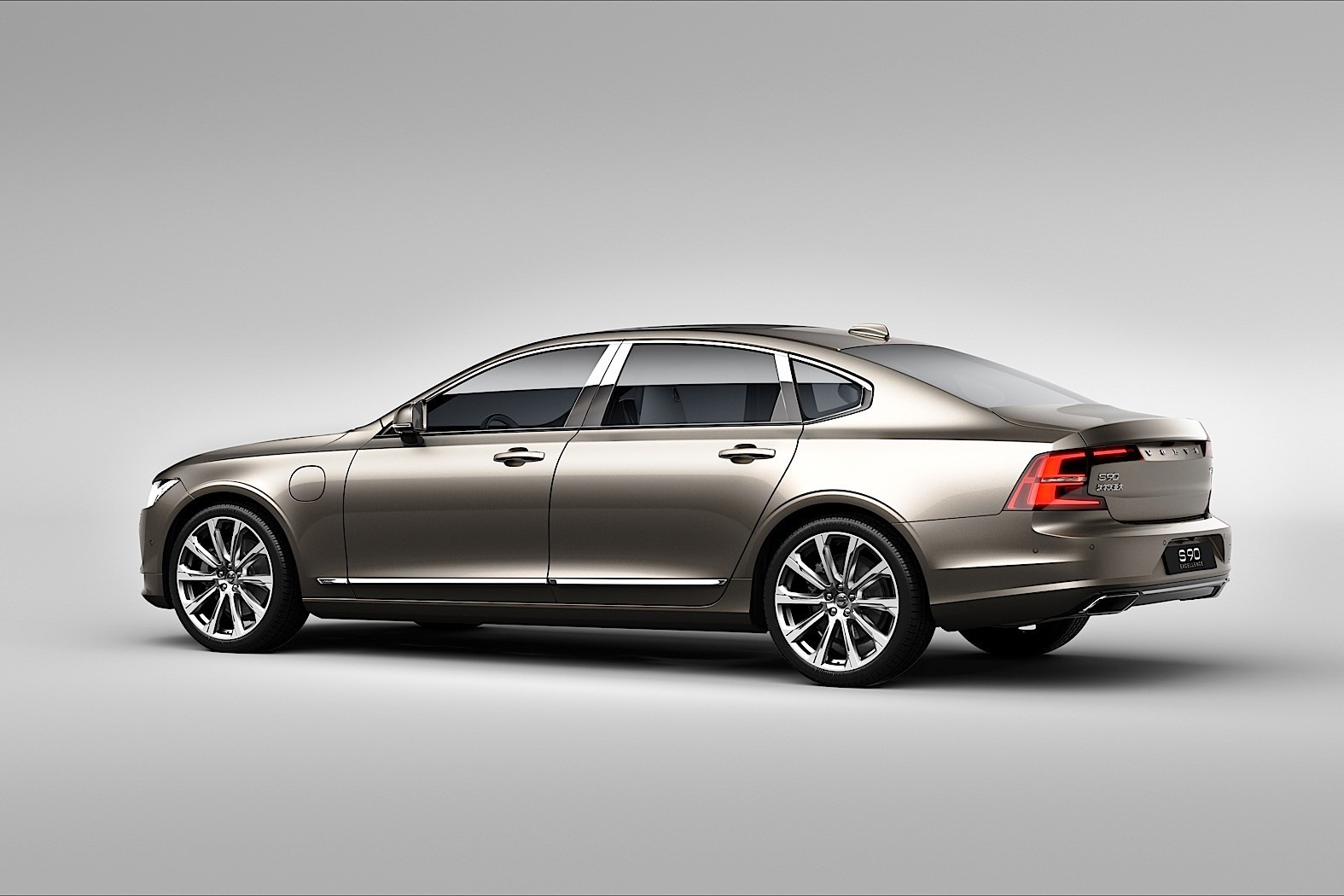 2017 volvo s90 excellence is the most luxurious production volvo ever autoevolution. Black Bedroom Furniture Sets. Home Design Ideas