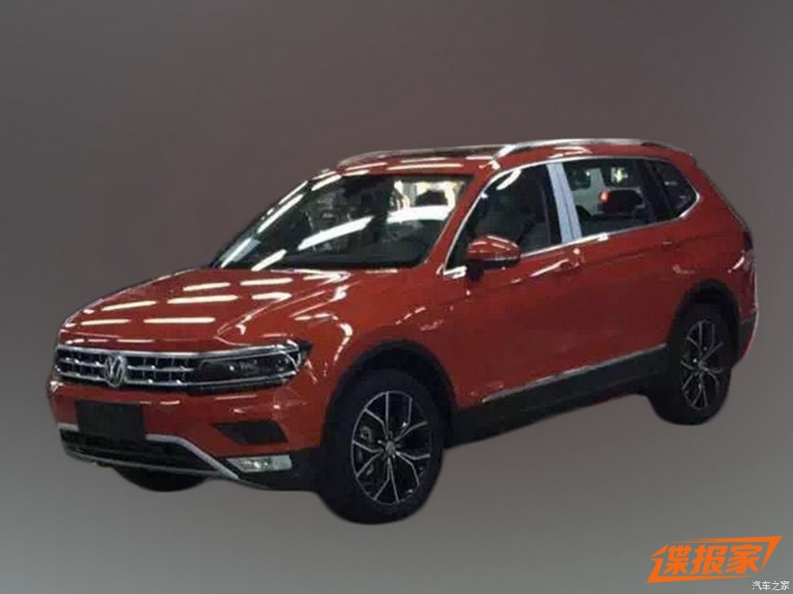 2017 Volkswagen Tiguan XL Snapped by the Carparazzi in China ...