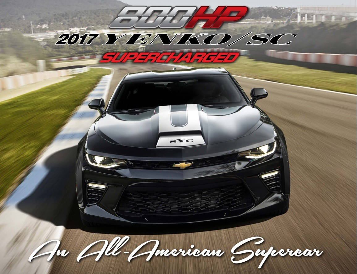 2017 Yenko Sc Camaro Gets Supercharged To 800 Hp