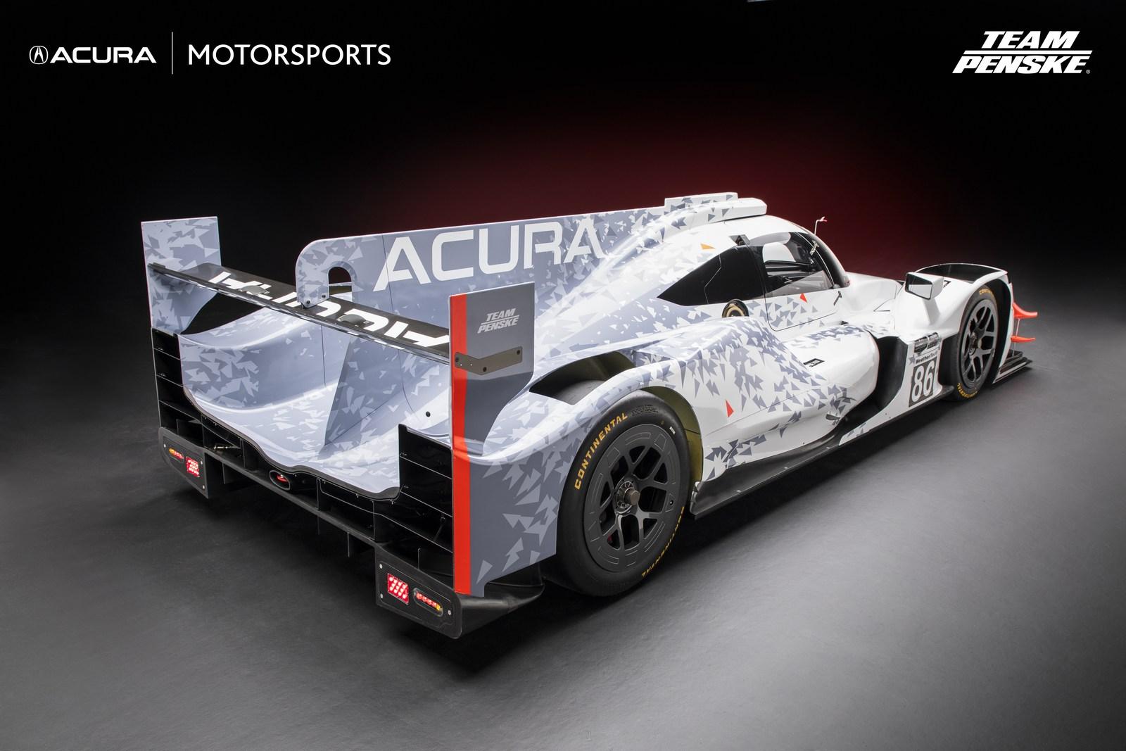 2018 Acura ARX-05 Looks Ready To Win Races - autoevolution