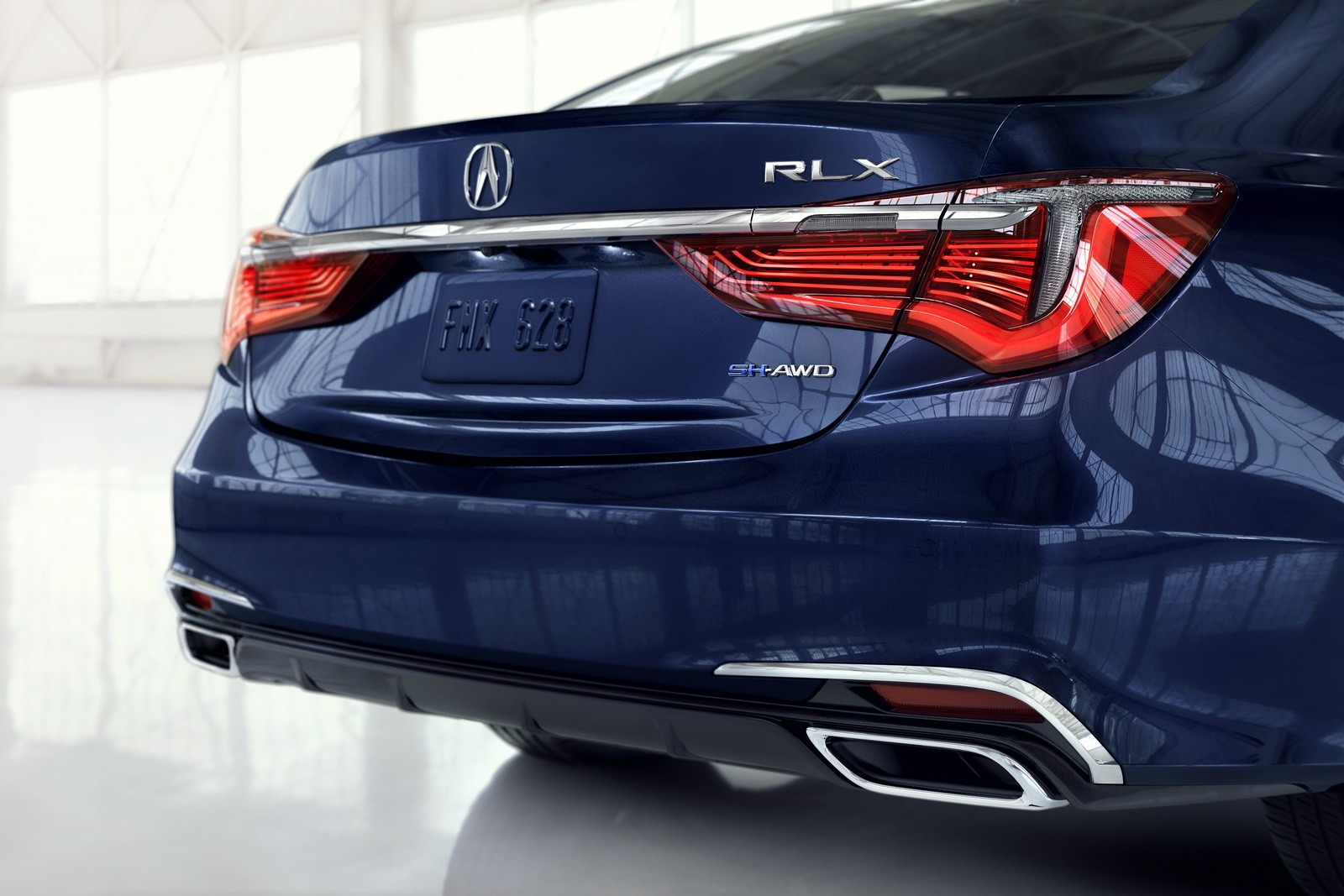 2018 Acura RLX Adds Fresh Styling, 10-Speed Automatic ...