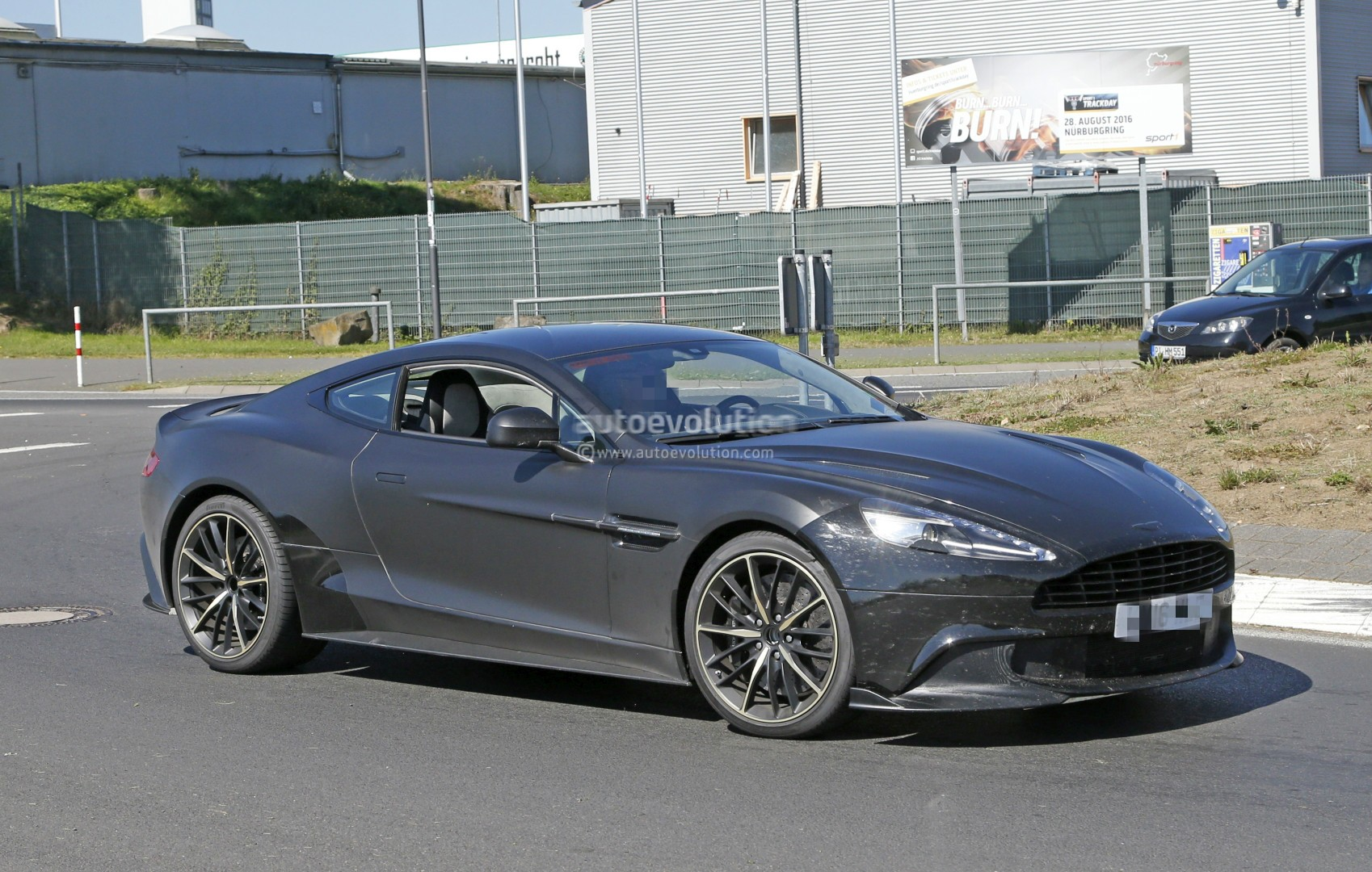 2018 aston martin vanquish s spied, a 600 hp v12 swansong before