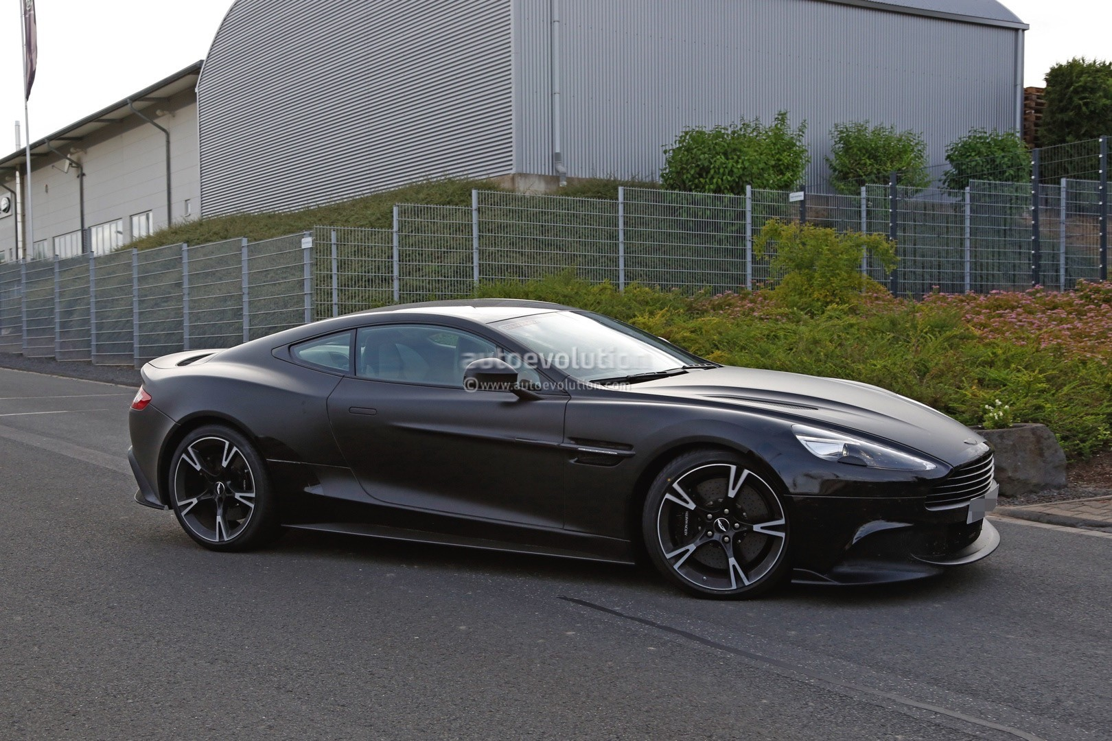 2018 Aston Martin Vanquish S Spied for the First Time ...