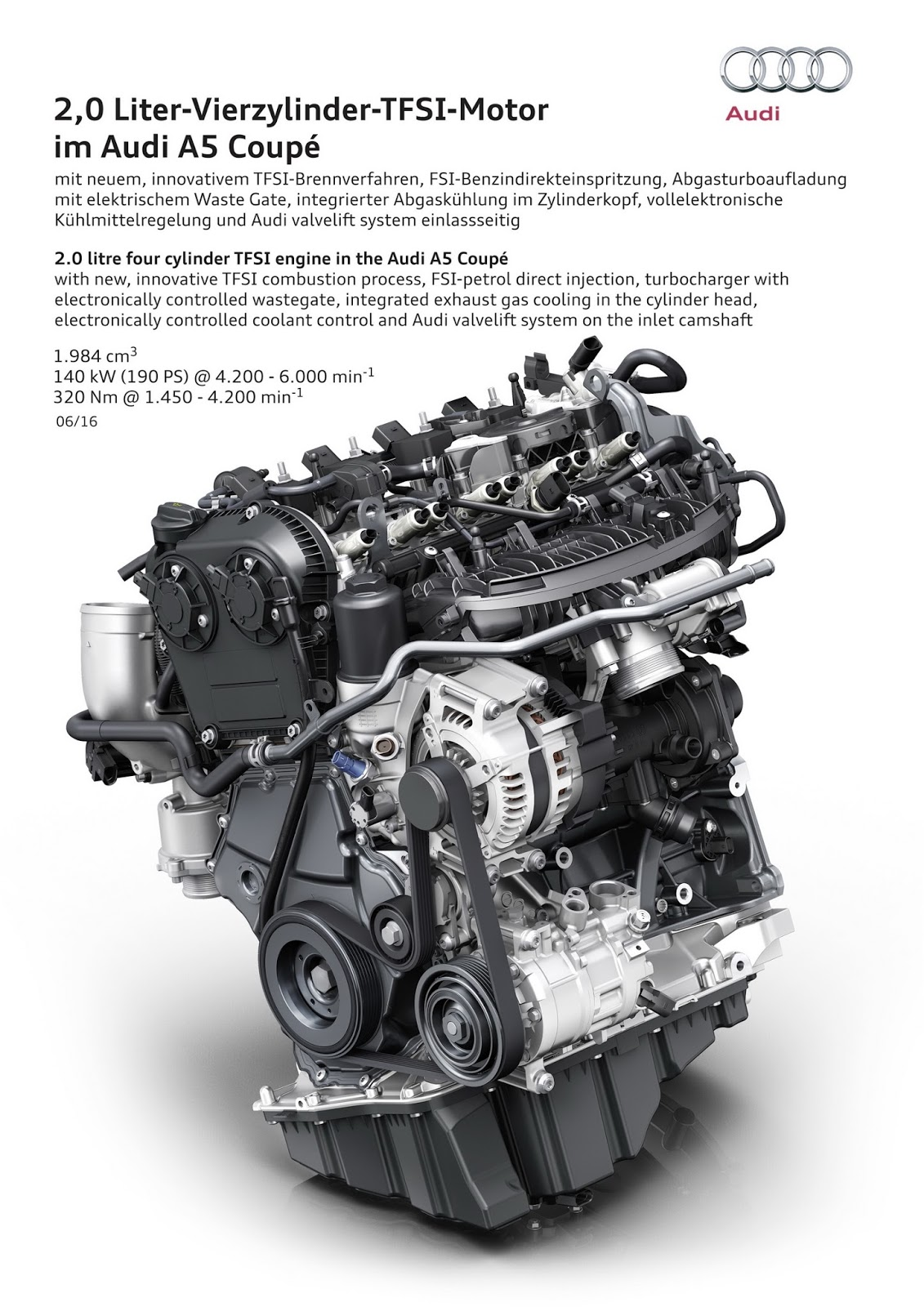 2018 audi 2 0 tfsi engine. contemporary engine 2018 audi a5 and s5 coupes detailed ahead of us debut in los angeles with audi 2 0 tfsi engine a