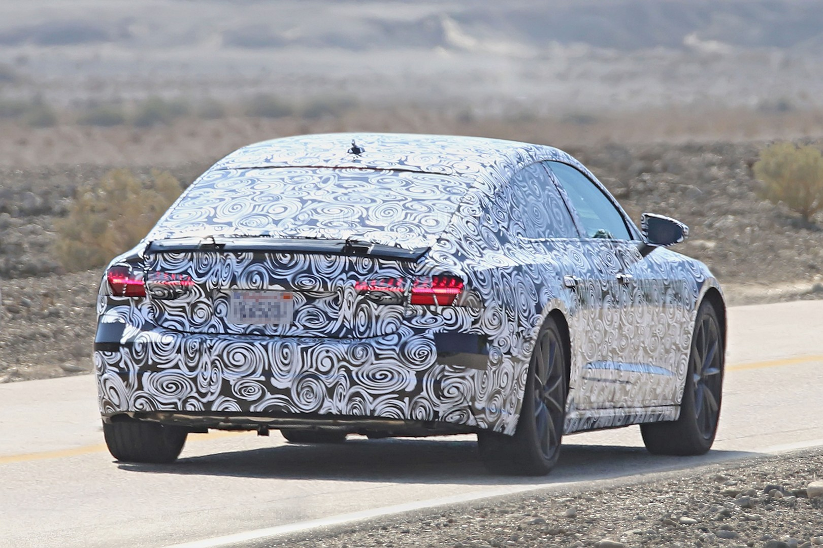 2018 audi electric car. contemporary electric 2018 audi a7 detailed spy photos reveal it could be electric or  hydrogenpowered for audi electric car